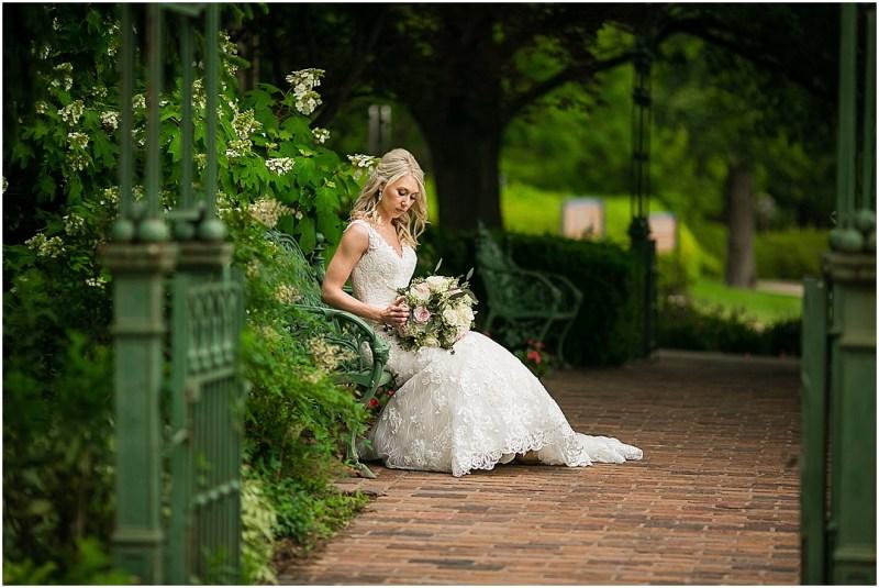 Gilcrease Museum Bridal Picturesque Photos by Amanda Tulsa Oklahoma_0008