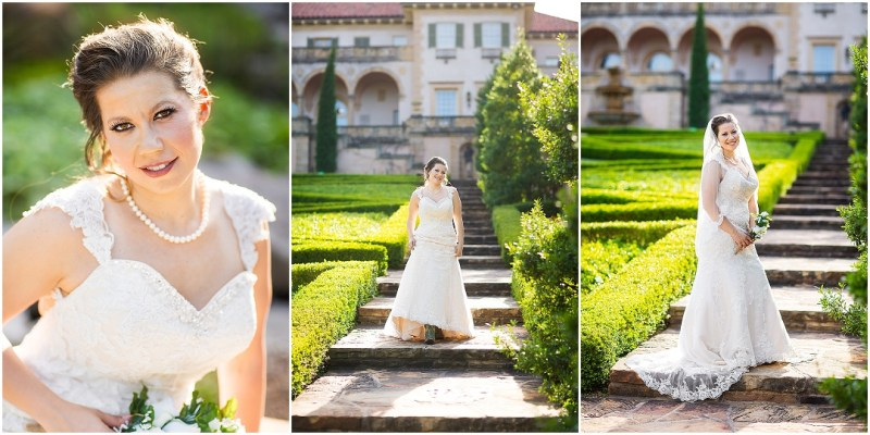 Philbrook Museum of Art Wedding Bridal Picturesque Photos by Amanda_0011