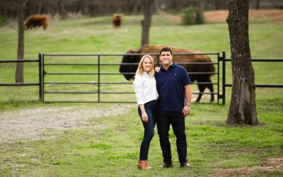 Allyson + Andrew | Spain Ranch Engagement Session