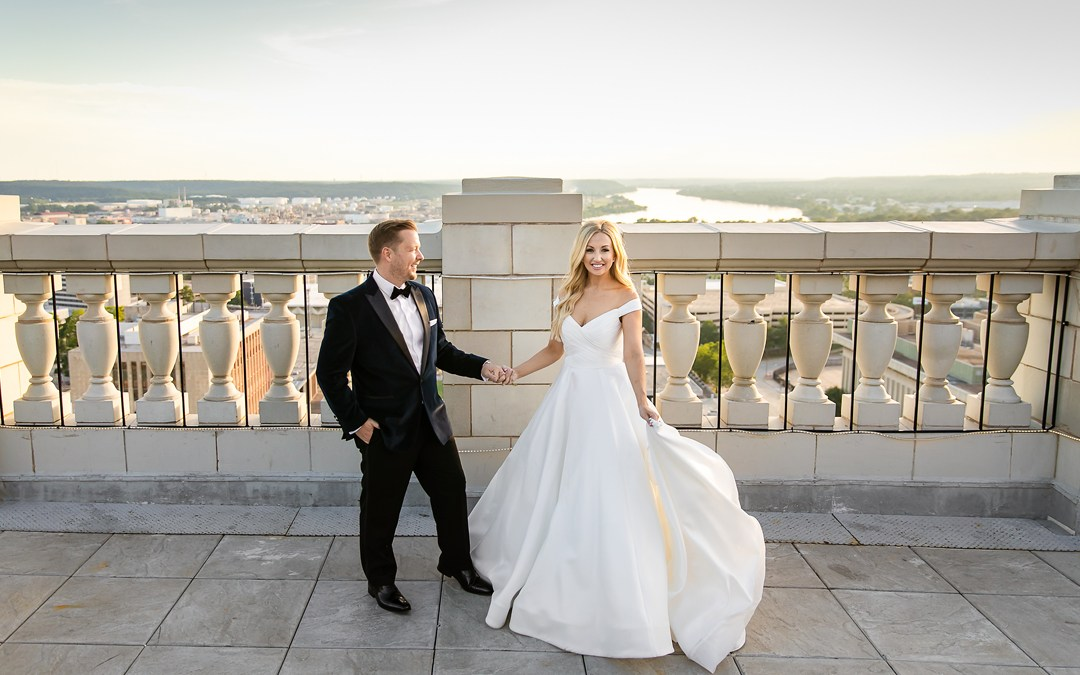 Jennifer + Aaron | The Mayo Hotel Wedding | Tulsa, Oklahoma