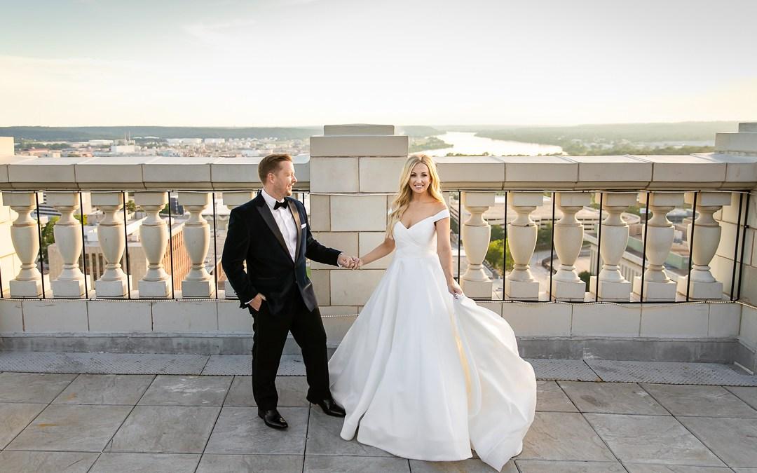Jennifer + Aaron   The Mayo Hotel Wedding   Tulsa, Oklahoma