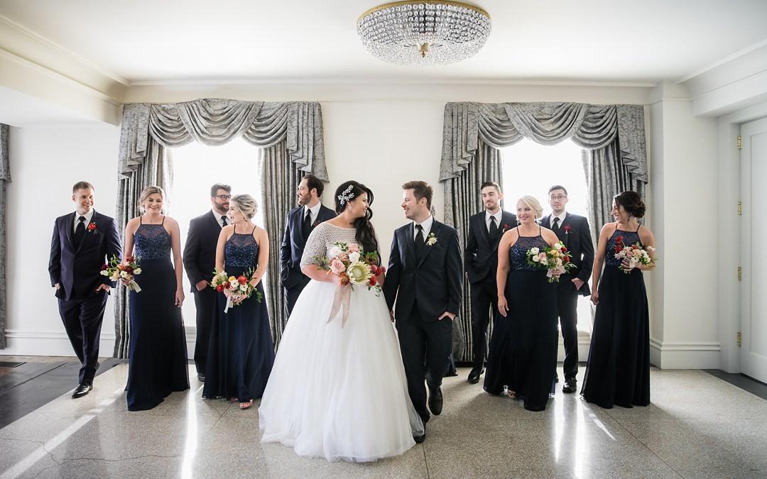 Nicole + Tim | Sharp Chapel Wedding and Mayo Hotel Reception | Tulsa, Okla.