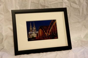 Motiv Kölner Dom mit Hohenzollernbrücke (Farbe)