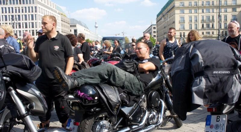 Biker Union Kundgebung
