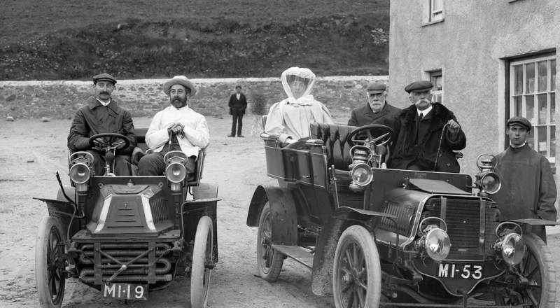 Historisches Foto National Library fo Ireland