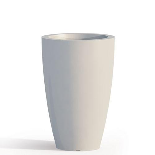 Vasi ivv, kartell, franz, bontempi e molto altro. Vaso Da Giardino In Resina Bianca Per Esterno Vasi Da Interno Design In Polietilene Ideale Per
