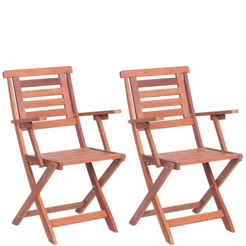 Scopri l'ampio assortimento di poltrone da giardino e sedie per esterno maisons. Sedia Pieghevole In Legno Da Giardino Con Braccioli Set Due Sedie Pieghevoli Leroy Merlin Da Esterno Per Terrazzo