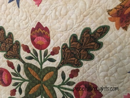 Detail Photo, Mrs. Miller's Quilt by Victoria Miller, Northfield Quilt Show 2017