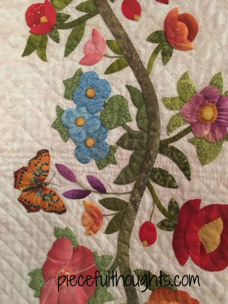 Patricia's Baltimore Odyssey by Victoria Miller, Northfield Quilt Show 2017