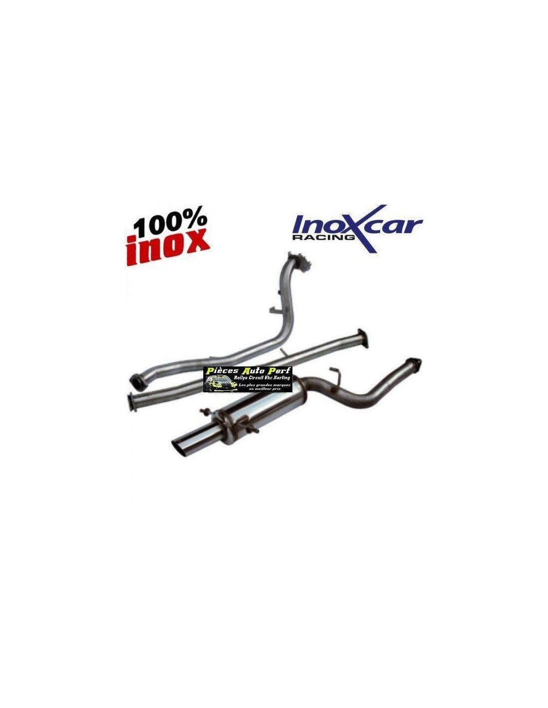 Ligne Echappement Groupe N Inox Pour Subaru Impreza 2 5