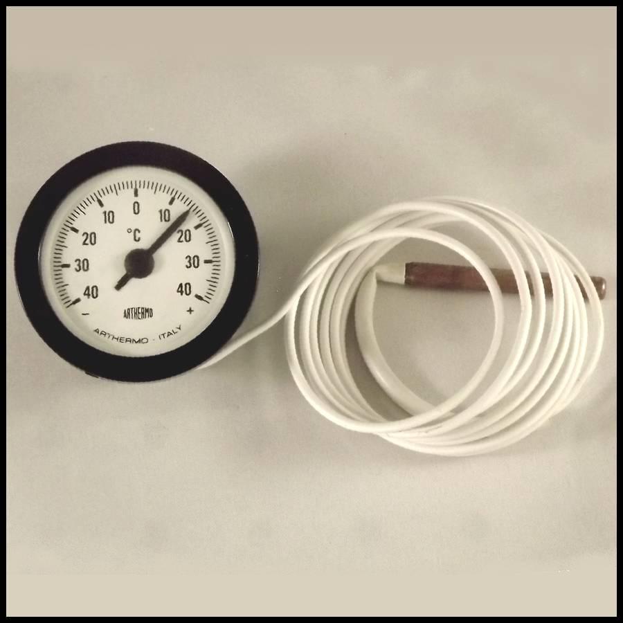 thermometre analogique arthermo o 52 mm 40 a 40 c avec sonde