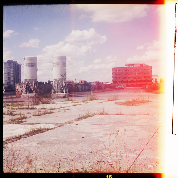 wasteland, spree, print, friedrichshain, berlin - Pieces of Berlin - Collection - Blog