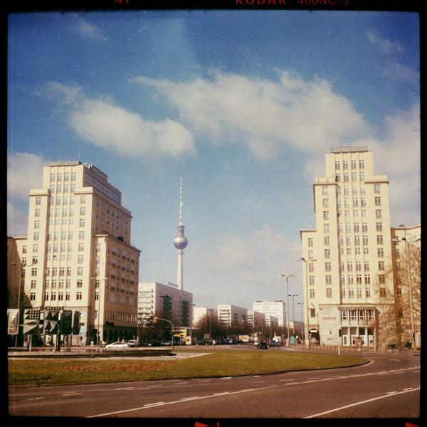 strausbergerplatz, print, friedrichshain, berlin - Pieces of Berlin - Collection - Blog