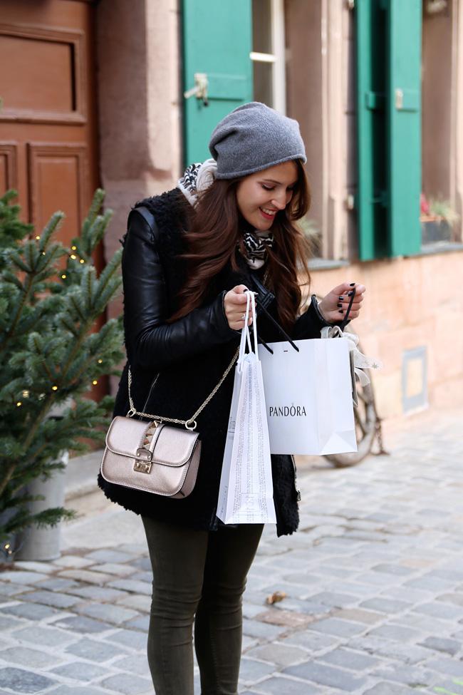 Das Perfekte Weihnachts Shopping Look