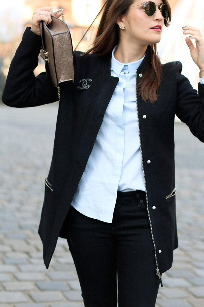 Outfit Collegejacke