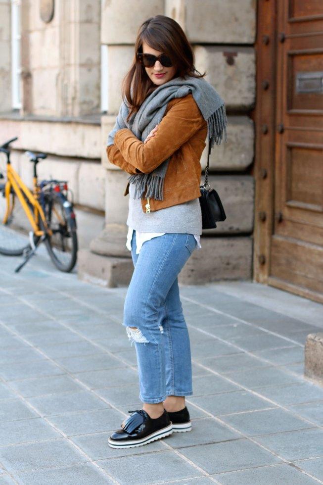 Girlfriend Jeans, Stella McCartney Lookalike Schnürer