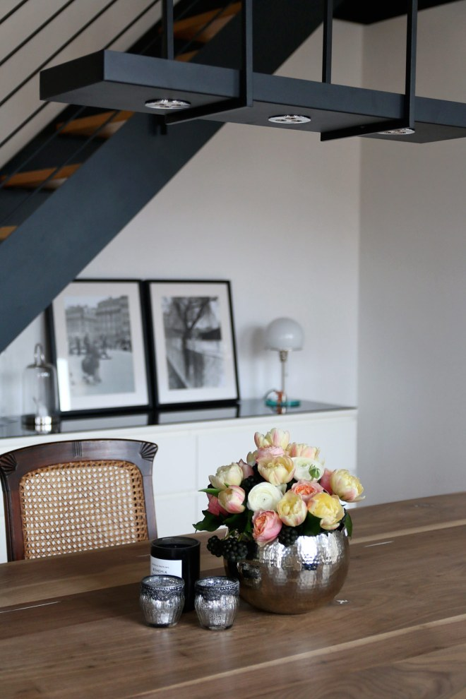 Esszimmer Loft Dekoration