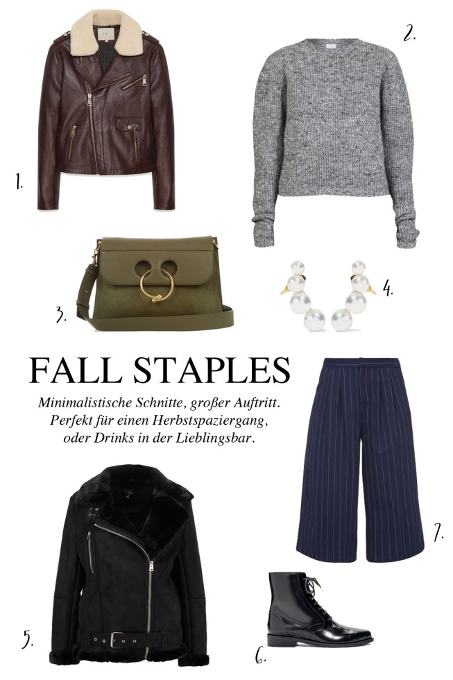 Fall Staples - Must Haves Im Herbst