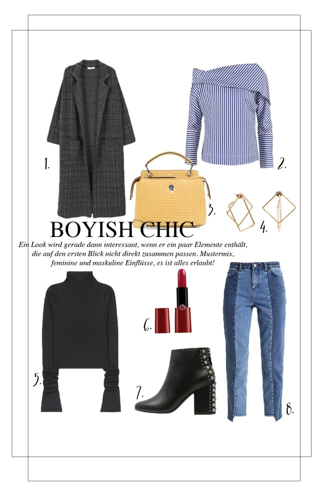 Shopping: Boyish Chic