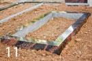 Sarkanbrūna granīta kapu apmale