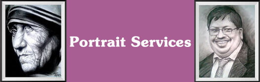 Outsource-portrait services india