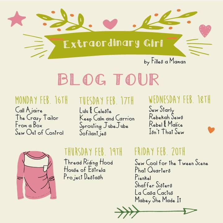 Extraordinary Girl Blog Tour Schedule