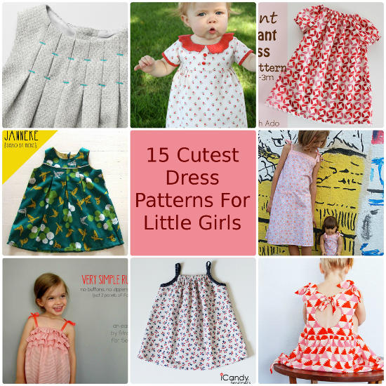 So Sew Easy Roundup Cute Girls Dresses txt small
