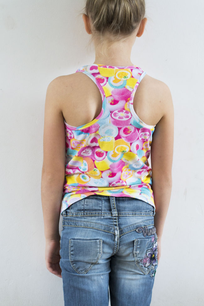 Candy Crush Tank Top - Sewn by Pienkel