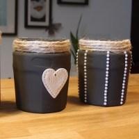 DIY - ideas para decorar tarros de cristal