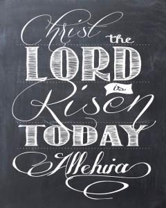 Christ is risen
