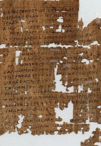 Fragment of the Gospel of Matthew from c. 250 AD