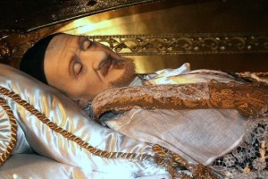 Dead 350 years, looks like he's taking a nap. NBD.