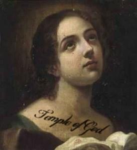 Tattooed virgin martyr