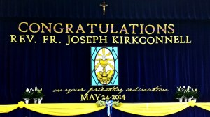 congratulations Fr. Joe