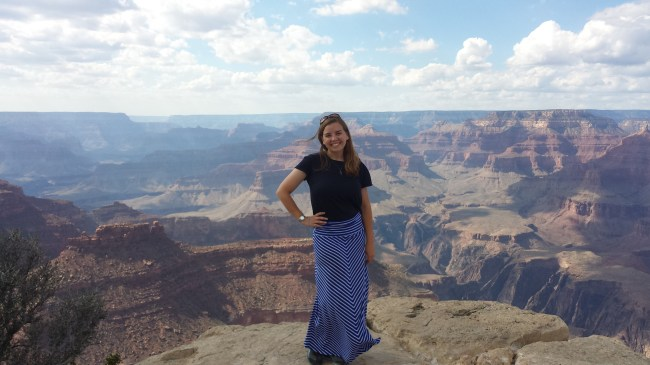 The Grand Canyon's a good place to start.