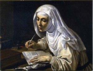 Just call me Catherine of Siena.