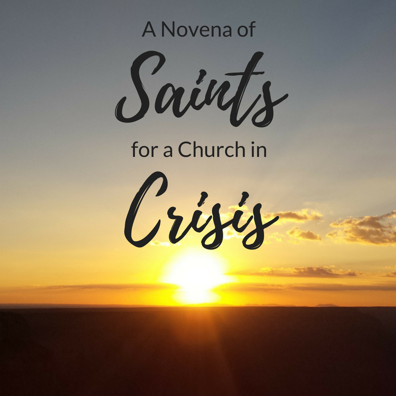 A Novena of Saints for a Church in Crisis