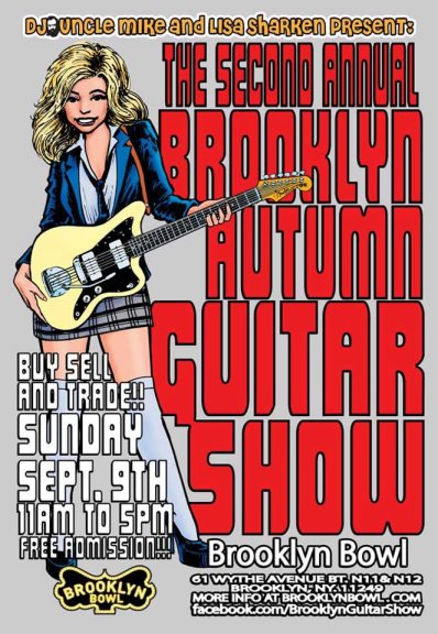 Poster - Brooklyn Autumn Guitar Show 2