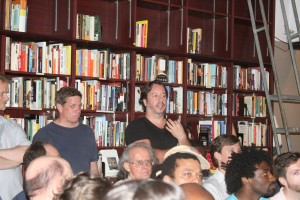 leaping tall buildings event, chris irving, seth kushner, housing works readings