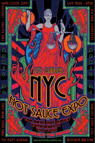 Poster - Hot Sauce Expo - 2013