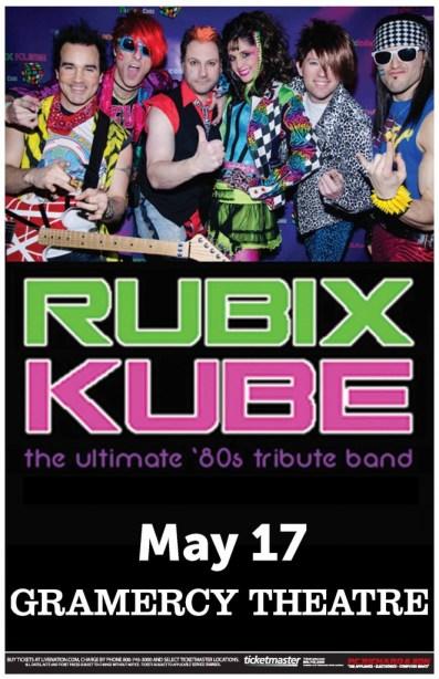 Poster - Rubix Kube - May 2013