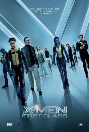 Poster - X Men First Class - 2011