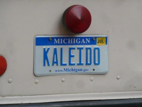 kaleido, kaleido license plate,