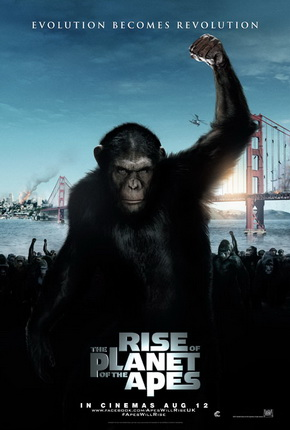 Poster - Rise of the Planet of the Apes - 2011