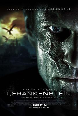 Poster - I Frankenstein v2 - 2014