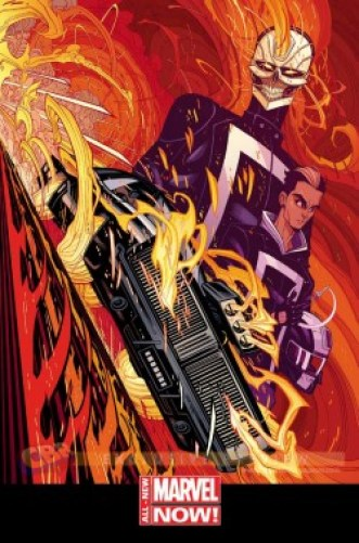 Comic - All-New Ghost Rider - 1