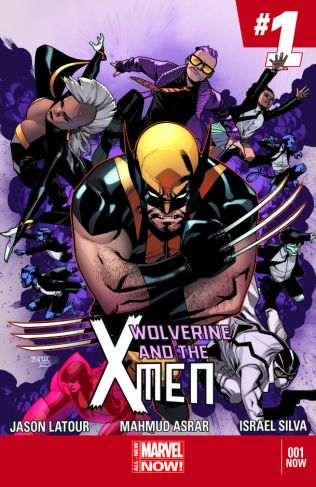 Comic - Wolverine and the X-Men - 1 - 2014
