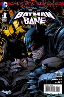 Comic - Forever Evil Aftermath - Batman Vs Bane 1 - 2014