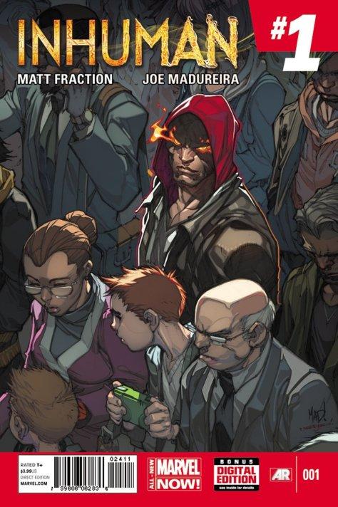 Comic - Inhuman 1 - 2014