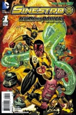 Comic - Sinestro 1 - 2014